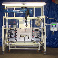 Radiator Core Insertion Machine